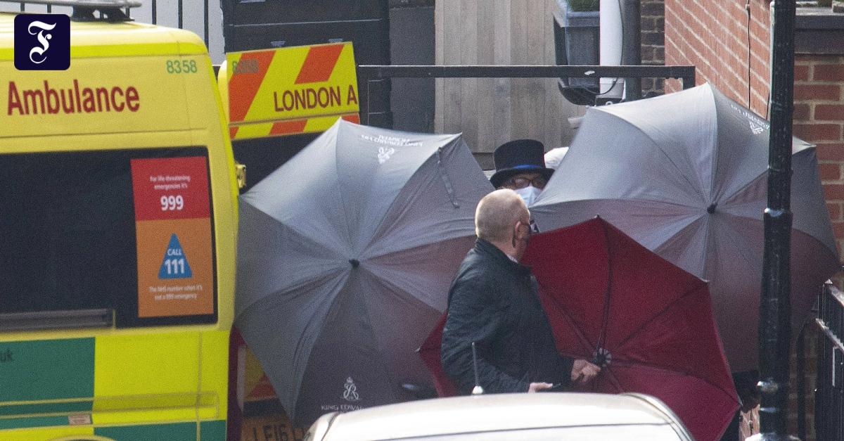 Prinz Philip in anderes Krankenhaus verlegt - FAZ - Frankfurter Allgemeine Zeitung