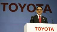 Toyota-Präsident Akio Toyoda