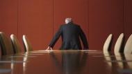 Omnipräsent und doch allein: Jeder zweite Unternehmensführer leidet bisweilen seelisch unter seiner Position.