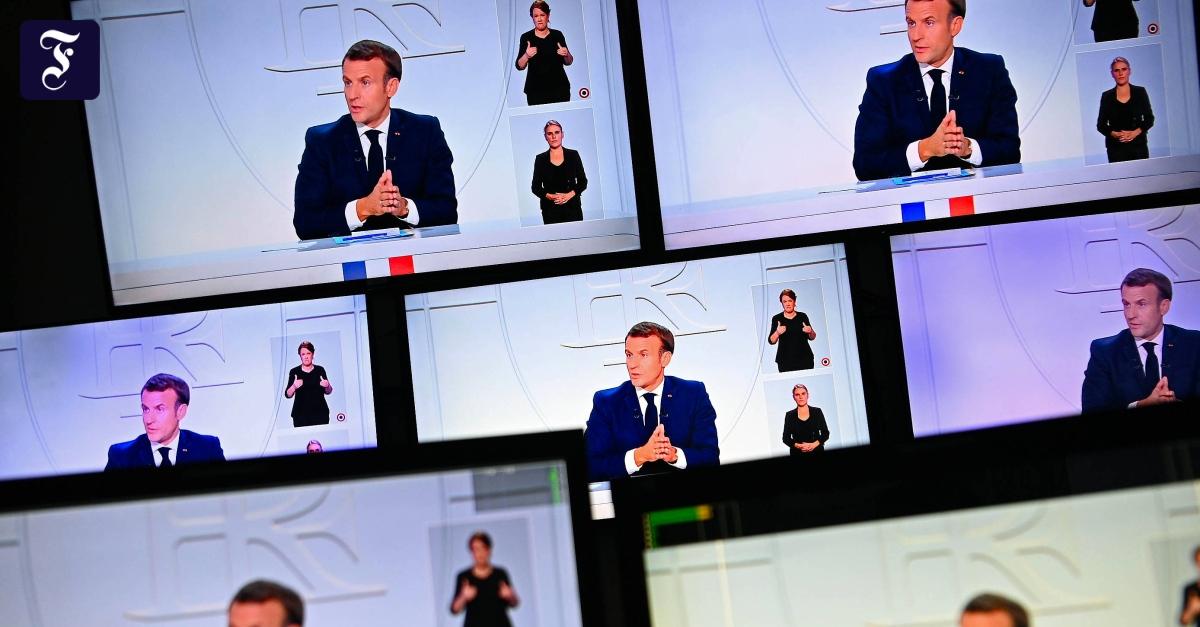 Corona in Frankreich: Macron kündigt nächtliche Ausgangssperren an