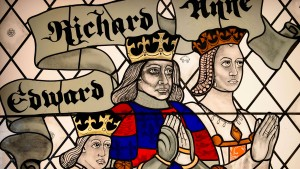 Richard III. schaute tief ins Glas