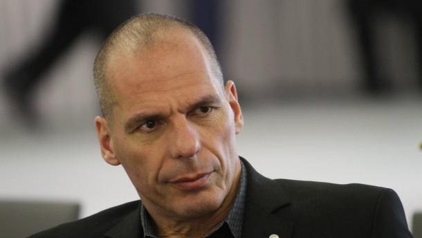 Varoufakis als Spieler, Amateur und Zeitverschwender attackiert