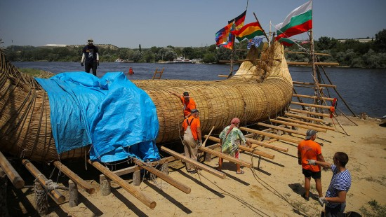 3000 Kilometer Abenteuer auf selbstgebautem Boot