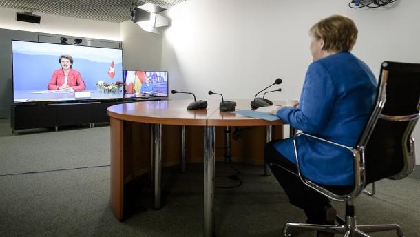 Merkel fliegt nicht zum G-7-Gipfel nach Washington
