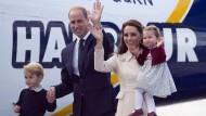 Royals reisen nach sieben Tagen ab