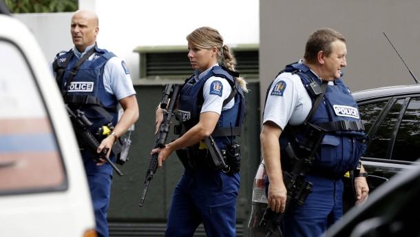 Neuseeland: Mehr als 40 Tote bei Terroranschlag auf Moscheen