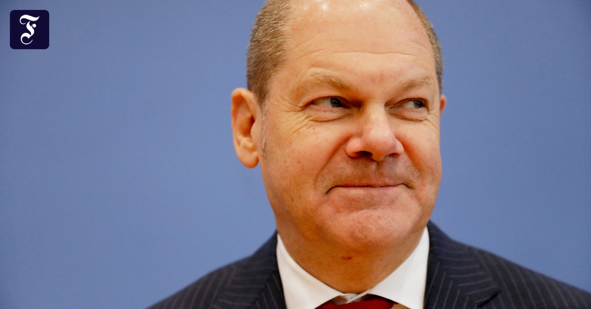 Vizekanzler Scholz