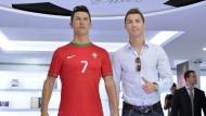 Cristiano Ronaldo, der Portugiese mit der Nummer 7: Das Original kostet knapp hundert Millionen Euro