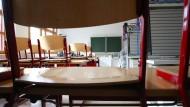 Wie im thüringischen Sonnenberg 2018 bleiben jetzt die Klassenräume in Unterwellenborn leer.