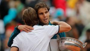 Nadal fällt zurück