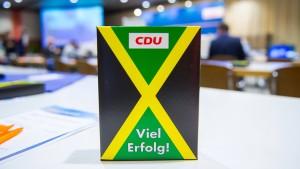 CDU-Politiker werben für Jamaika-Koalition im Bund