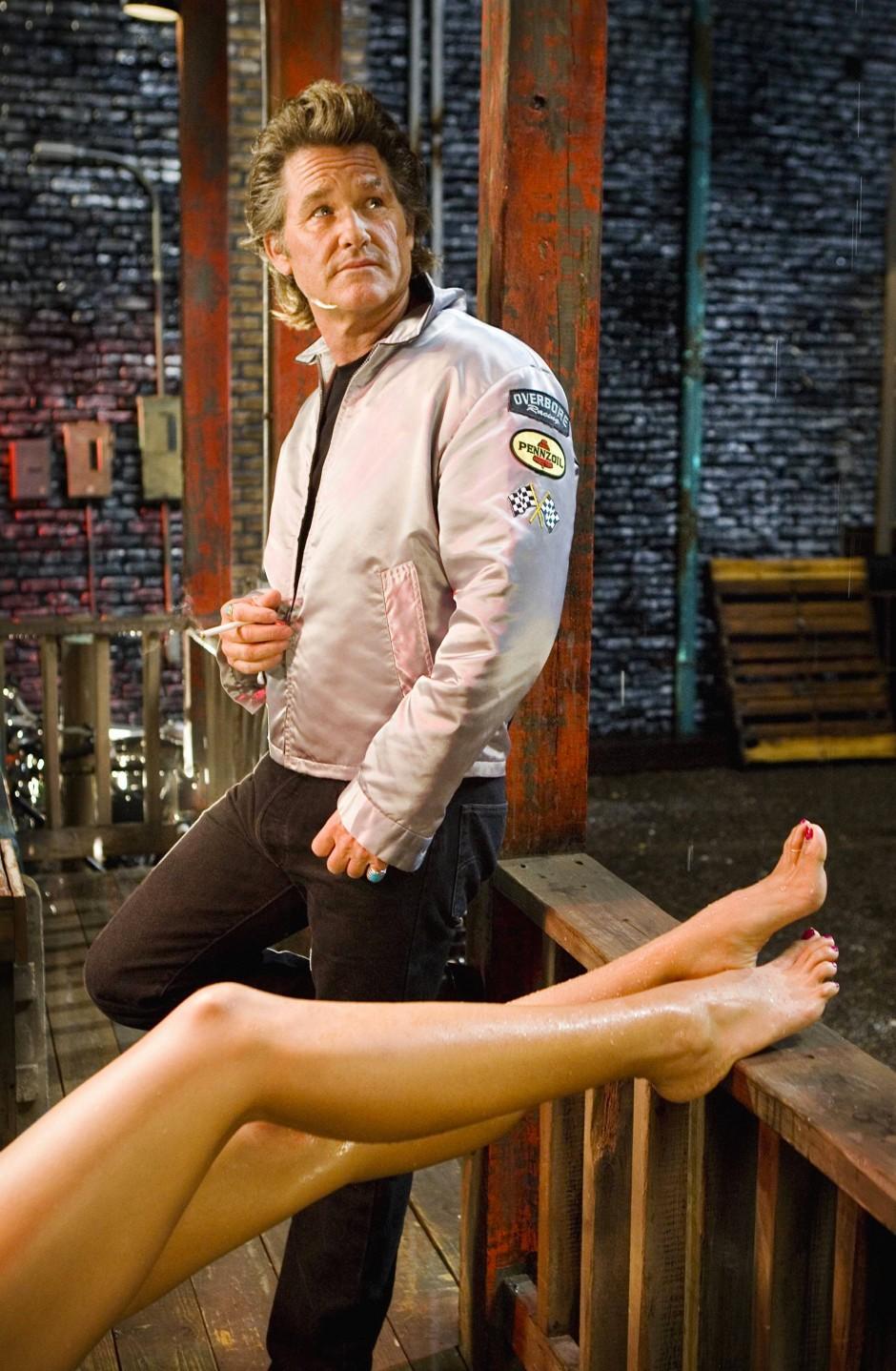 """Kultig: In """"Death Proof - Todsicher"""" spielt Kurt Russel den mordenden Stuntman Mike."""