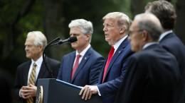 Trump droht mit Einsatz des Militärs