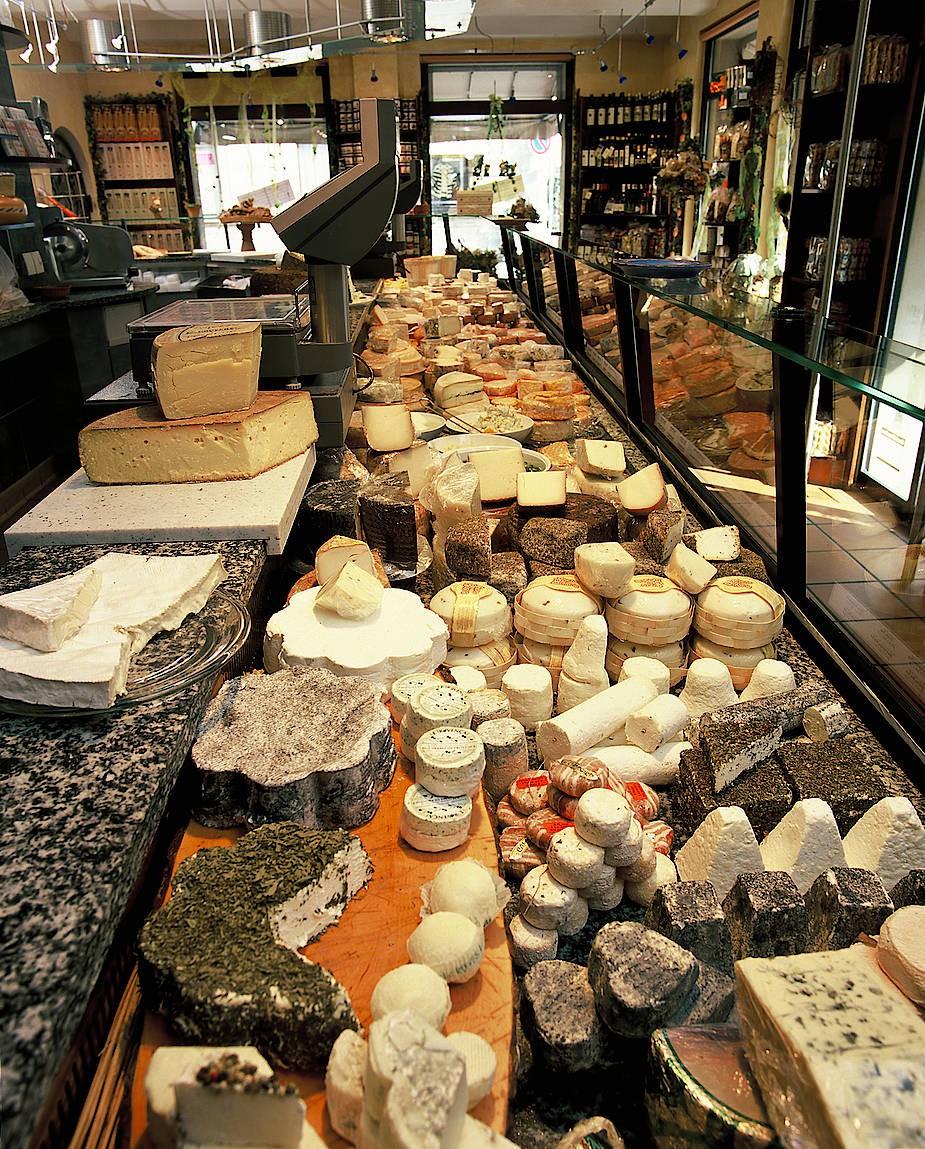 Heute hat Waltmann mehr Käsesorten im Angebot, als General de Gaulle in die Verzweiflung trieben.