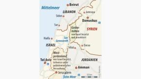 Infografik / Karte / Syrien