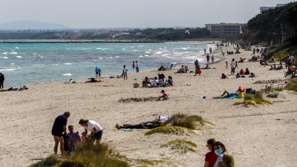 Corona-Zahlen auf Mallorca weiter stabil