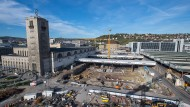 Ein Loch, in dem das Geld versinkt: Die Baustelle von Stuttgart 21