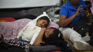 Asyl in Mexiko statt Weiterzug zur Grenze
