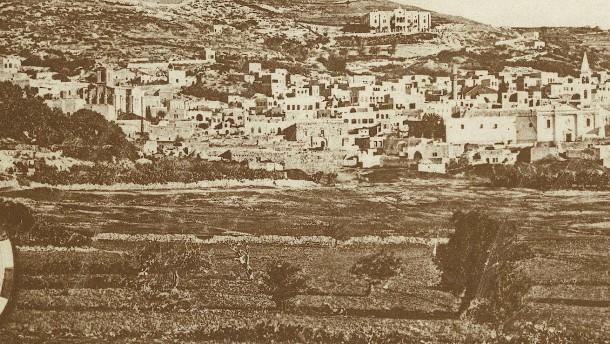 Palästina und die zionistische Frage