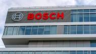 Eine Bosch-Niederlassung in Stuttgart