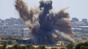 Erneute Eskalation an Grenze zwischen Gaza und Israel