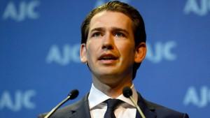 Österreich für Aufnahmelager außerhalb der EU