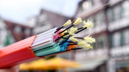 Nur jedes zweite deutsche Unternehmen hat schnelles Internet