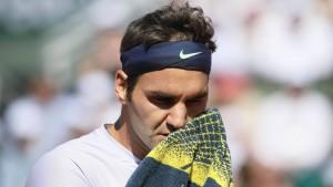 Kraftloser Federer scheitert früh