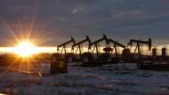 Pumpen in North Dakota: Je niedriger der Ölpreis ist, desto unattraktiver wird die Förderung.