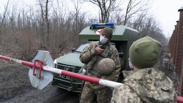 """""""Unerschütterliche Unterstützung für territoriale Integrität der Ukraine"""""""