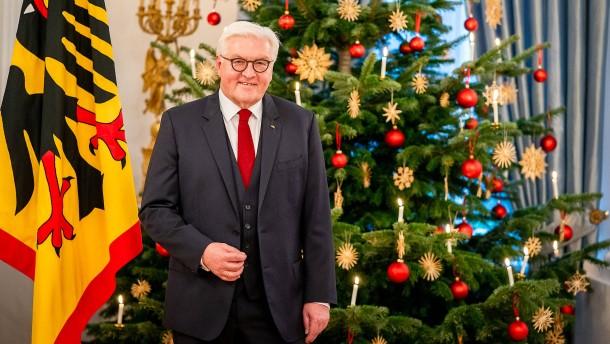 Bundespräsident Steinmeier nimmt Bürger in die Pflicht