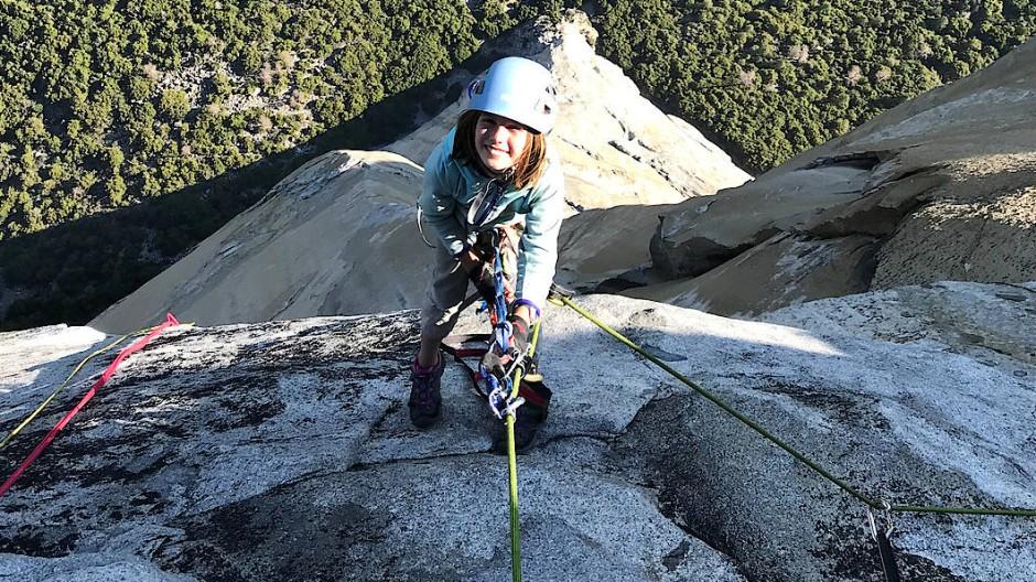 Mit 10 Jahren auf dem El Capitan