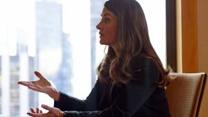 Melinda Gates findet deutsche Frauenquote phantastisch