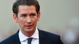 Bundeskanzler Kurz kritisiert österreichisches Innenministerium