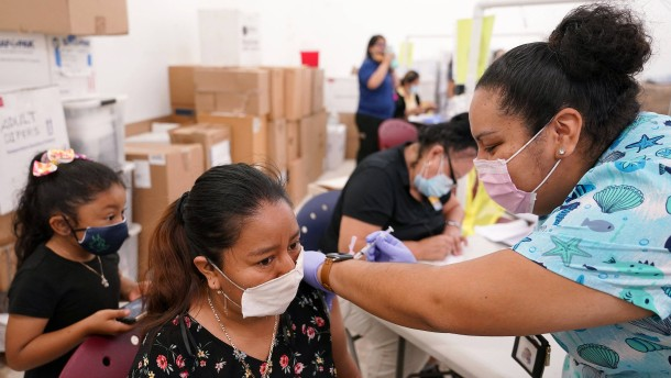 Mehr als 4,6 Millionen Impfungen in Amerika an einem Tag
