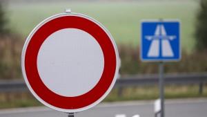 Abschnitt der Autobahn 5 bei Frankfurt wird komplett gesperrt
