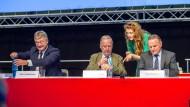"""""""Wir sind das Original"""": Meuthen, Gauland und Pazderski am Samstag in Augsburg"""