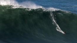 Auf der Welle zum Rekord