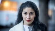 Porträt der Modekolumnistin Caroline Issa, in der Londoner Innenstadt am Mittwoch, den 12. Dezember 2018.