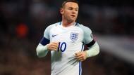 Rooney beendet Karriere bei Three Lions