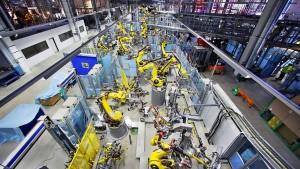 Mehr Aufträge für die deutsche Industrie als gedacht