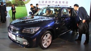 China elektrisiert BMW