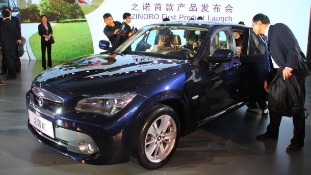 China elektrisiert BMW