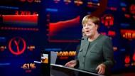 """Merkel stellt """"begehbares Wahlprogramm"""" der CDU vor"""