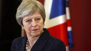 Theresa May steht vor nächster Machtprobe mit dem Unterhaus