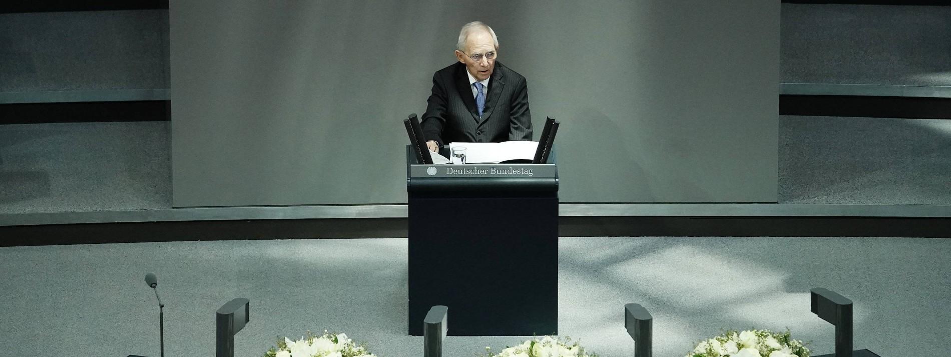 Schäuble warnt vor Antisemitismus