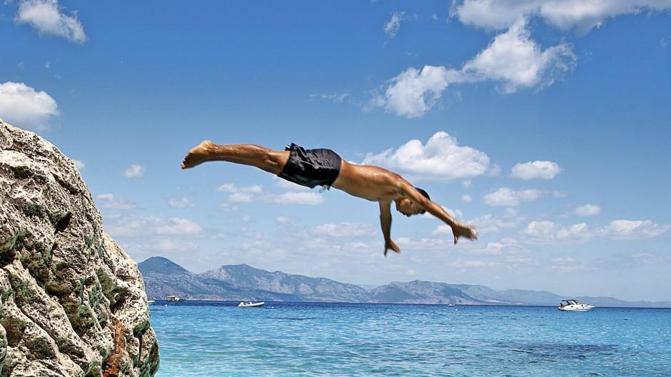 Urlaub in Sardinien: Die Ferien sollten nicht nur mit Dividenden finanziert werden.