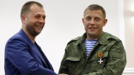 Anführer der Volksrepublik Donezk übergibt an Militärchef