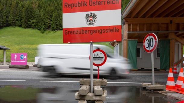 Österreich öffnet die Grenze zu Italien