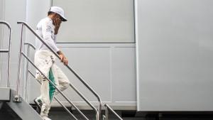 Hamilton muss von weiter hinten starten